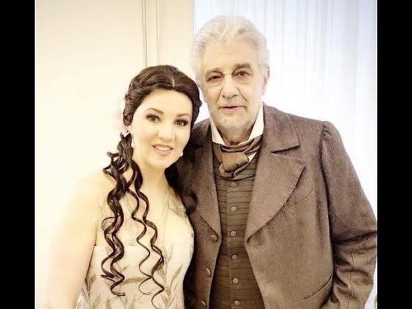 Plácido Domingo, Oxana Shilova - La Traviata - Un di quando le veneri... Dite alla giovine