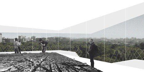 Fernando Romero's new Archivo gallery