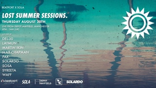 Del-30 DJ set - Sola Lost Summer Sessions    Live