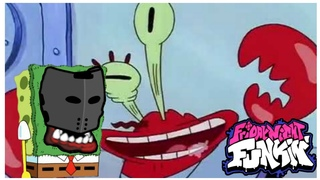 Tricky Madness but Mr. Krabs is also there