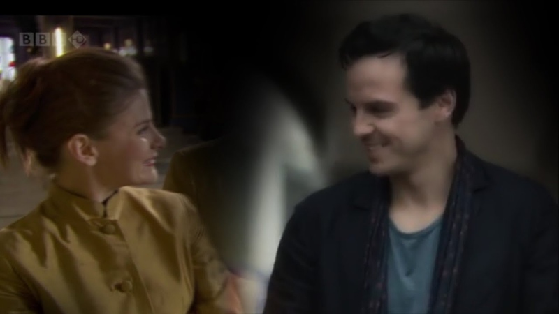 Molly Hooper Jim Moriarty / One More Night