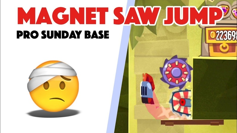 King of Thieves - Base 21 Magnetic Saw Jump