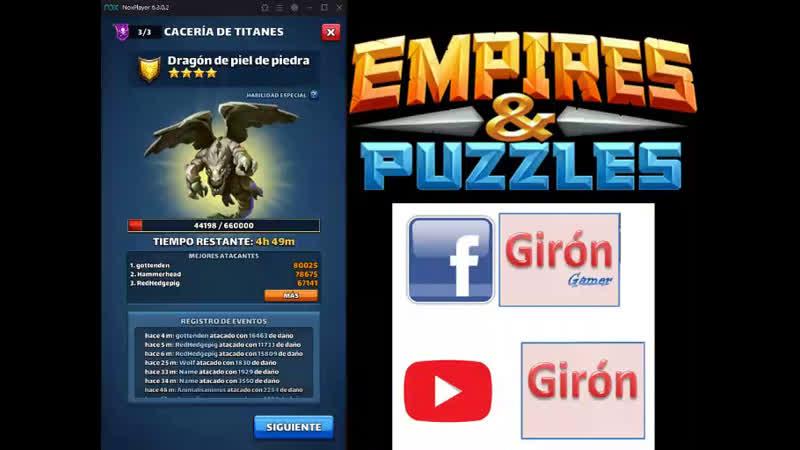 Dragon de Piel de piedra - Empires and Puzzles