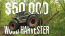 Monster Truck Felling Trees in The Peat Bog