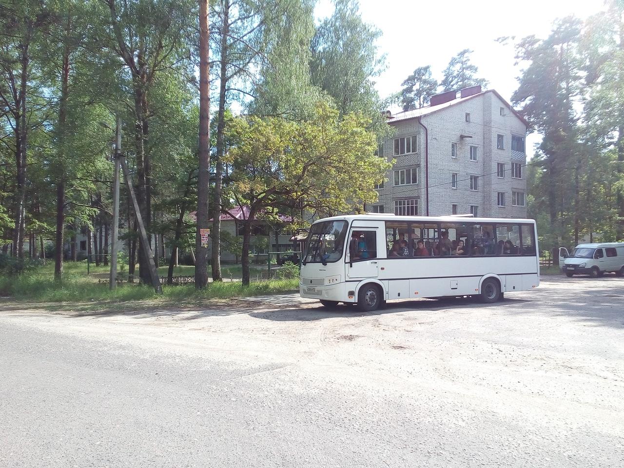 автобус пригородного сообщения