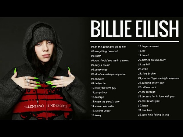 Billie Eilish Full Album 2020 | Best Songs Of Billie Eilish Greatest Hits