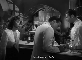 Касабланка Casablanca (1942) #coub