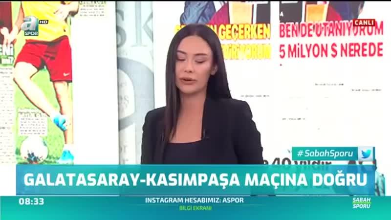 0110. ''Vedat Muriç İle Falcao'yu Kıyaslamak Akıl Tutulmasıdır'' A Spor Sabah Sporu 12.09.2019.mp4
