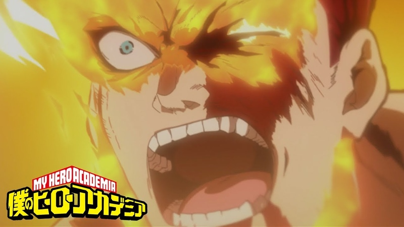 PLUS ULTRA PROMINENCE BURN!   My Hero Academia