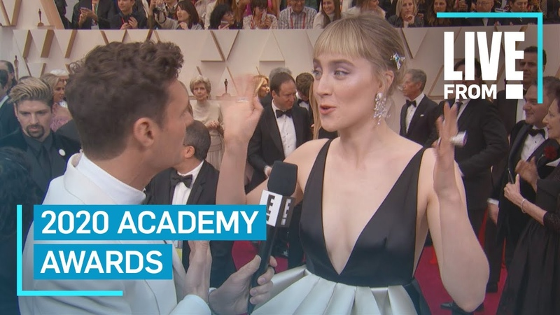 Saoirse Ronan's Reason For Joining Little Women E Red Carpet Award Shows