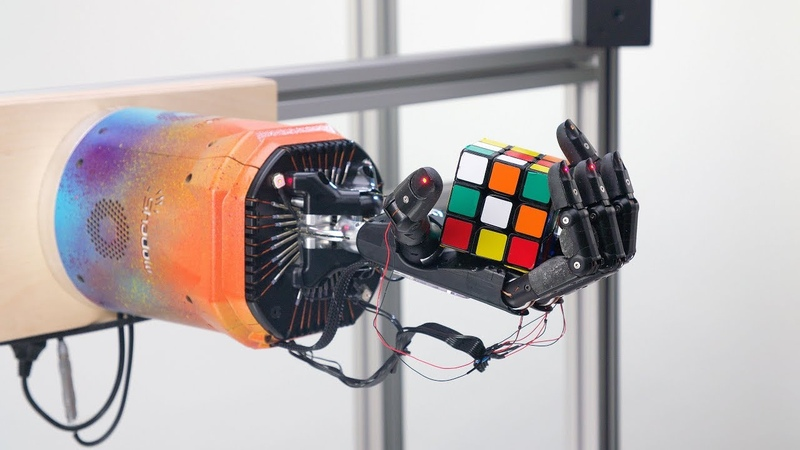 Solving Rubik's Cube with a Robot Hand: Uncut