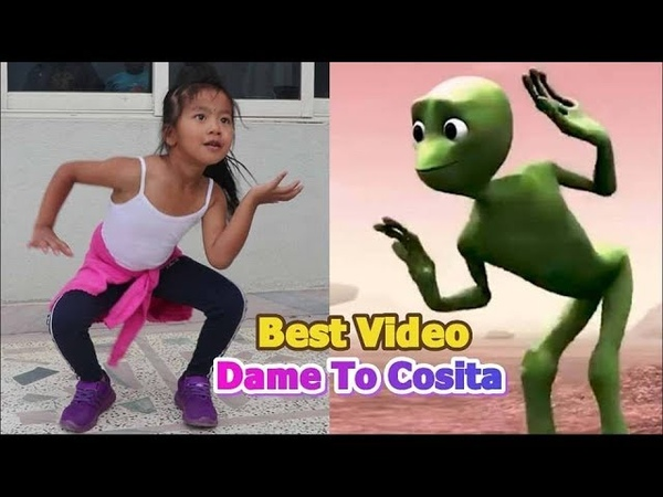 Top Challenge Dame To Cosita By Nepalese 6 years Old Shreya