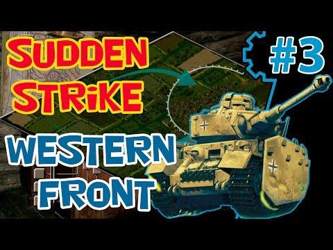 Стратегия про вторую мировую Sudden Strike 2 прохождение | мод RWG ToW | Западный фронт 3