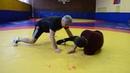 Приемы вольной борьбы с мастером (Lyubo Kumbarov)приезжал с командой борцов из США