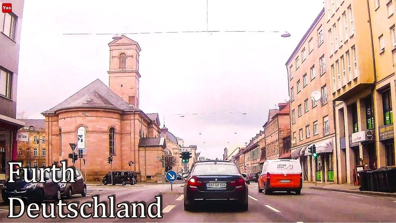 Фюрт / Fürth за рулем авто, Германия