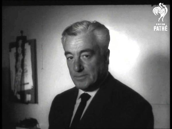 Queen Fabiolas Brother Signs Film Contract (1961)
