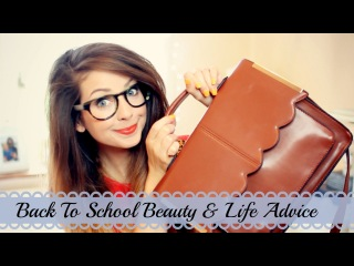 Back To School Beauty & Life Q&A | Zoella