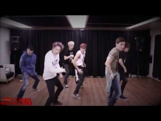 mirrored U-KISS 'She's Mine'  Dance Practice