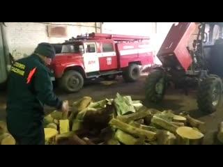 Результат встречи пожарных ДПК Маяк с главой Новокуйбышевска Сергеем Марковым - ДРОВА!