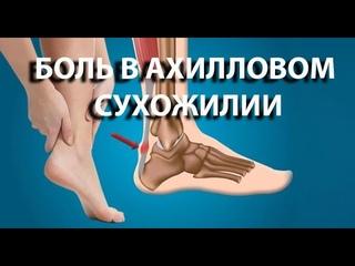 Что делать с болью в ахилловом сухожилии? Спасаем мир с доктором Демченко. Лечение беговых травм.