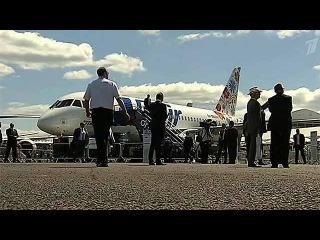 Авиасалон в Фарнборо начался со скандала: участникам из России не выдали британские визы - Первый канал