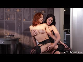 Sarah Cute and Veronica Leal - Lingerie Passion [Lesbian]