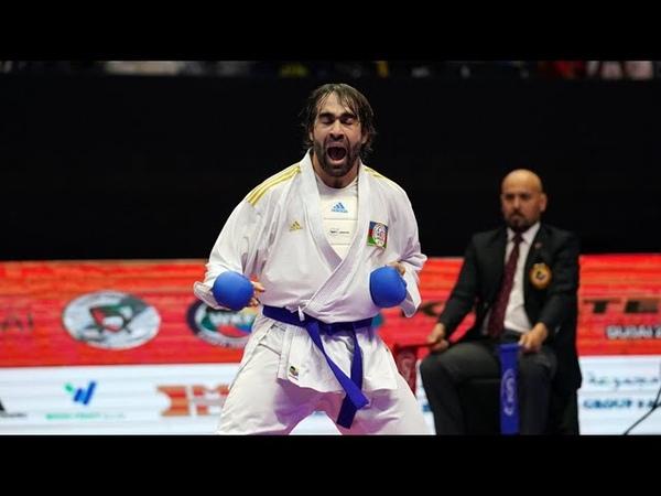 Rafael Ağayev qızıl medal qazandı və göz yaşlarını saxlaya bilmədi