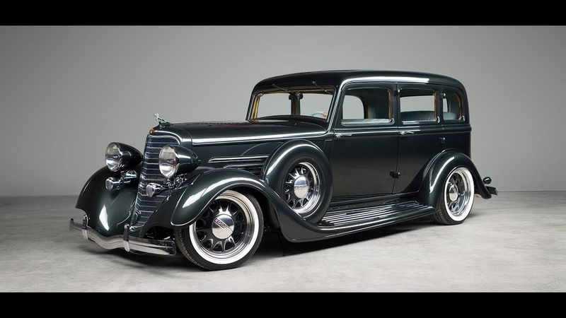 Гений авто дизайна Kindig Customs Dodge Brothers 1934