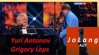 "Jolang Reaction to GRIGORY LEPS & YURI ANTONOV singing ""Near birches and pines"""