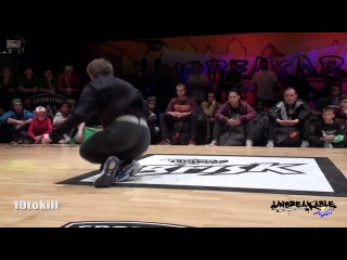 Lil G VS Bruce Almighty - Unbreakable 2013 - Semi Final