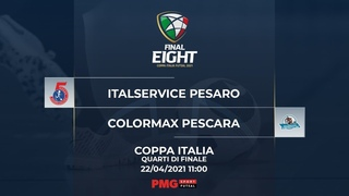 Final 8 Serie A Futsal - Italservice Pesaro vs Colormax Pescara
