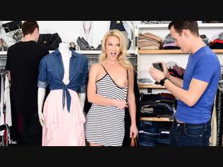 Sydney hail - shopping with bae [blonde, big tits, toys, straight, masturbation, cum on ass, 720p]