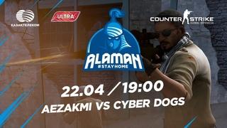 Alaman #StayHome: Counter-Strike:Global Offensive| Winners R2| AEZAKMI vs Cyber Dogs