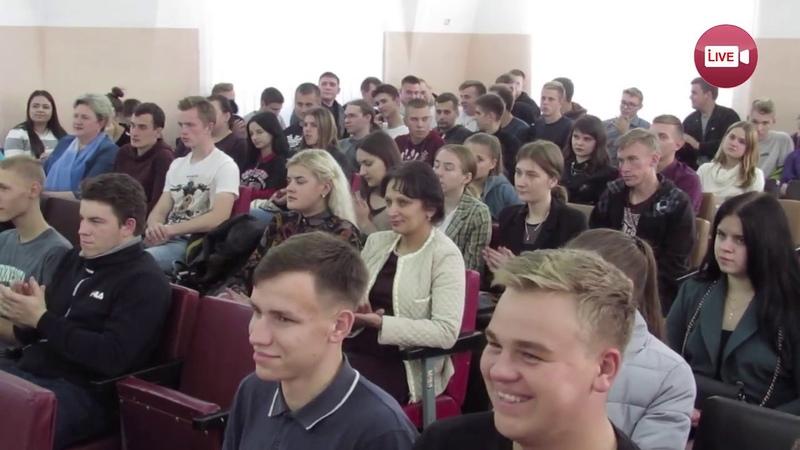Слонимским студентам рассказали, зачем нужны депутаты...