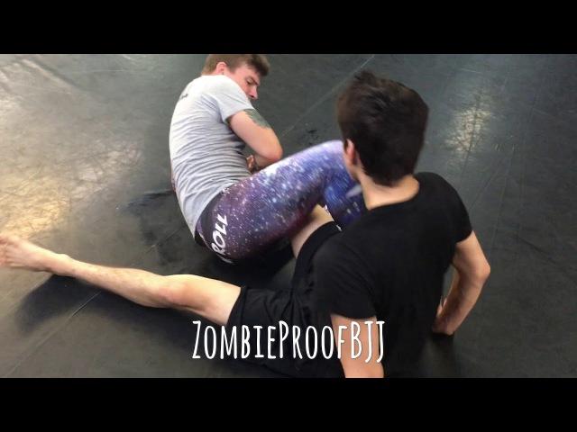 Heel Hook Transitioning Drill Ashi Garami 411 Reaped Leg DOA ZombieProofBJJ NoGi