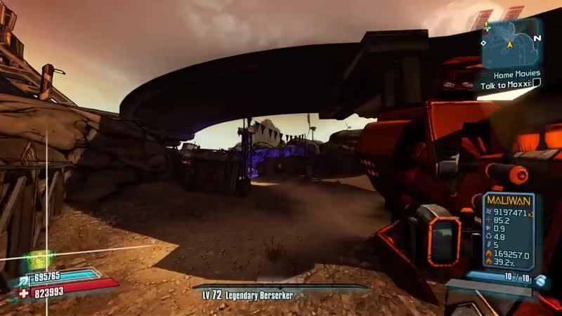 Borderlands 2 Легендарный Пробег 15 Красных Сундуков Пухлики Коротышки Реактивный Фарм