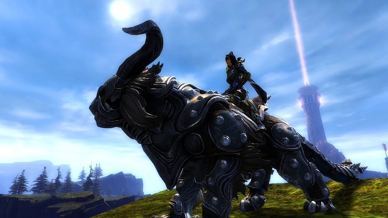 Guild Wars 2 - Новое ездовое животное Warclaw (NCSOFT)