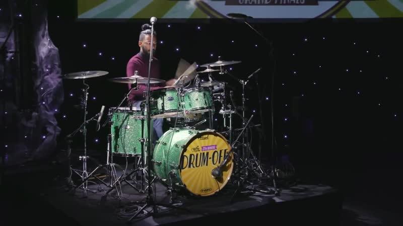 Luis Burgos Jr Guitar Center 27th Annual Drum Off Finalist