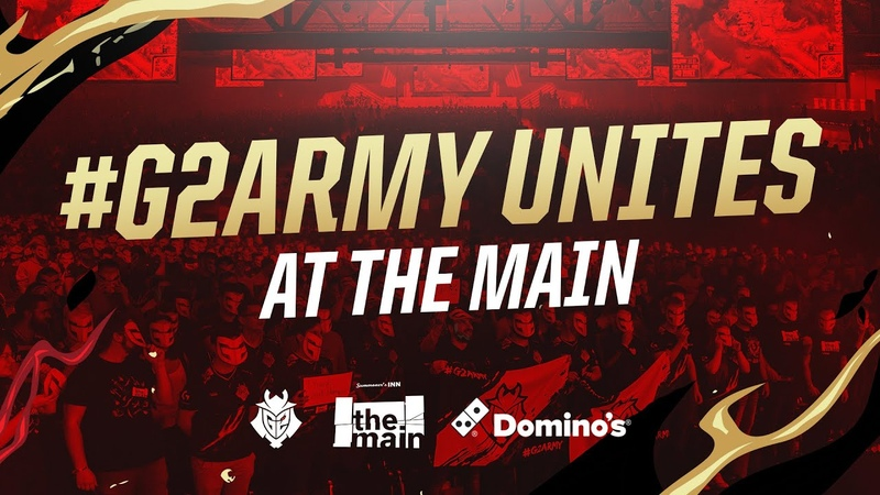 G2 Army Unites at The Main | G2 x Dominos Viewing Party