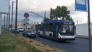 Троллейбус, маршрут №24 (в объезд по Московскому пр.) ВМЗ б.1204 () Санкт-Петербург