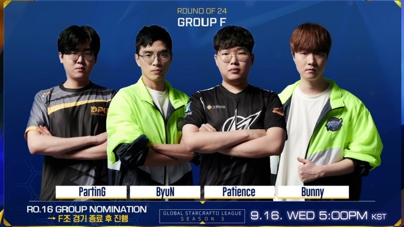 ENG 2020 GSL S3 Code S RO24 Group F RO16 Group Nominations