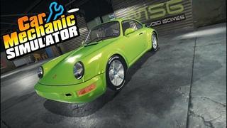 Реставрируем Porsche 911 в Car Mechanic Simulator (Часть 2)