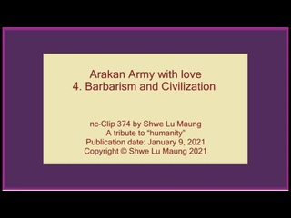 nc-Clip 374 Arakan Army with love_ 4. Barbarism an(360P).mp4