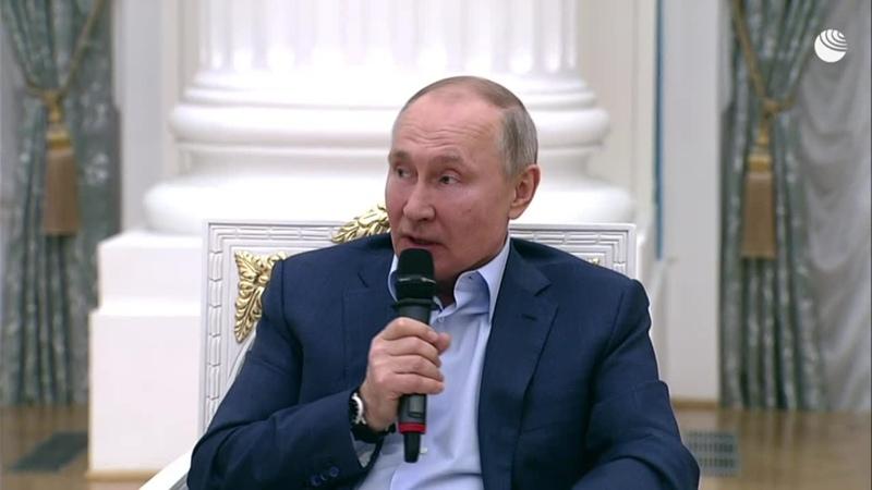 Путин назвал букашками людей подталкивающих детей к суициду