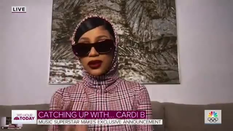 I felt like I could talk to her about is such a real woman CardiB about meeting one of her idols Mariah Carey