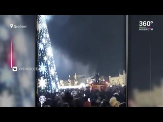 Россияне зажгли в Новогоднюю ночь горели пальмы, горы и балконы. Фейерверки вышли из-под контроля