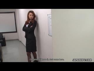 Mai Takizawa - JapanHDV ## JAV asian brunette office secretary boss uniform pantyhose blowjob cowgirl sex porn