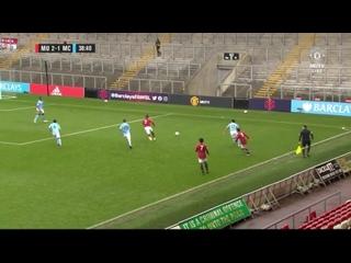 United U23s 2-1 Man City U23s - Facundo Pellistri 39'