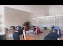 Гимнастика для Людей. Фрагмент тренировки. Скорость видео увеличена в 10 раз.