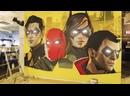 Новое граффити «Рыцарей Готэма» в студии WB Montreal